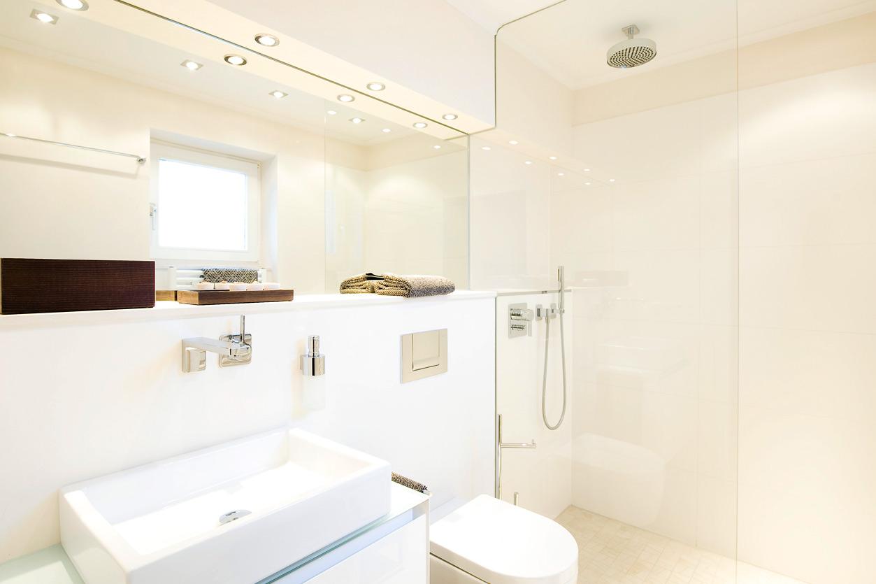 Bukoll Bäder und Wärme, Dießen am Ammersee, Referenzen, barrierefreies Bad, bodengleiche Dusche