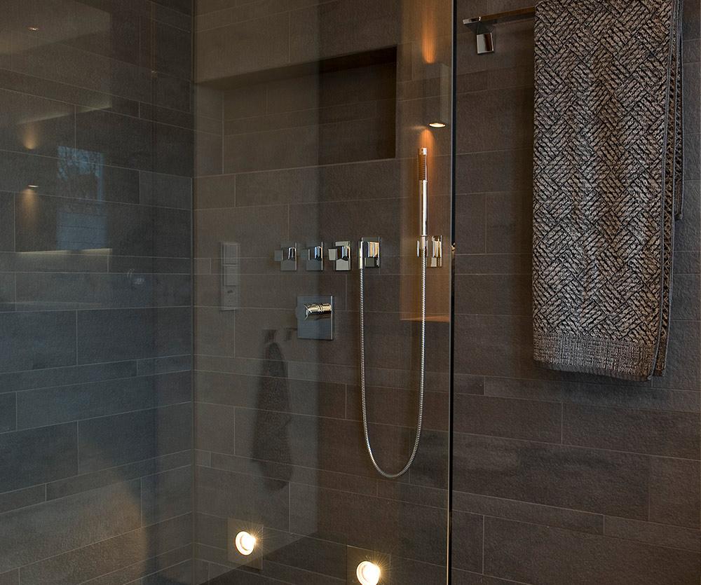Bukoll Bäder und Wärme, Dießen am Ammersee, Referenzen, kleines Bad, Holz im Bad